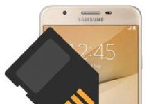 Samsung Galaxy On7 Prime SD kart biçimlendirme
