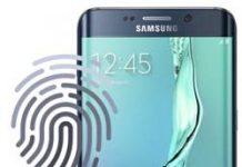 Samsung Galaxy S6 Edge Plus parmak izi ekleme