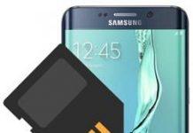 Samsung Galaxy S6 Edge Plus SD kart biçimlendirme