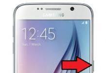 Samsung Galaxy S6 ekran görüntüsü alma