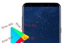 Samsung Galaxy S8 Plus Play Store hataları