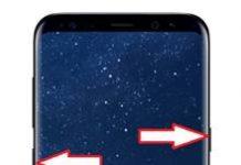 Samsung Galaxy S8 Plus ekran görüntüsü alma
