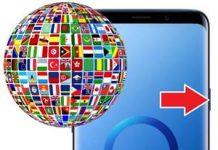 Samsung Galaxy S9 Plus Dil Değiştirme