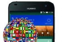 Huawei Ascend G7 dil değiştirme