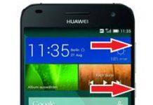 Huawei Ascend G7 kurtarma modu