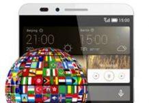 Huawei Ascend Mate 7 dil değiştirme