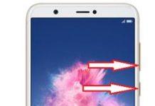 Huawei Enjoy 7S ekran görüntüsü alma