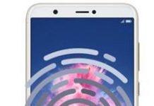 Huawei Enjoy 7S parmak izi ekleme