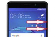 Huawei GR5 2017 ekran görüntüsü alma