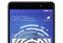 Huawei GR5 2017 parmak izi ekleme