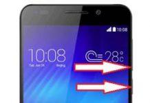 Huawei Honor 6 ekran görüntüsü alma