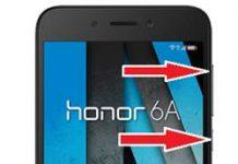 Huawei Honor 6A kurtarma modu