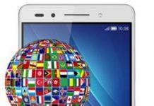 Huawei Honor 7 dil değiştirme