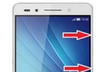 Huawei Honor 7 kurtarma modu