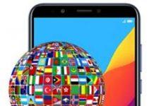 Huawei Honor 7C dil değiştirme