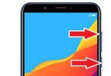 Huawei Honor 7C kurtarma modu