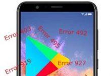 Huawei Honor 7X Google Play hataları