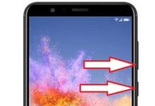 Huawei Honor 7X ekran görüntüsü alma