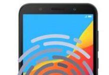 Huawei Honor 7s parmak izi ekleme