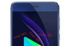 Huawei Honor 8 Google Play hataları