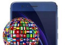 Huawei Honor 8 dil değiştirme