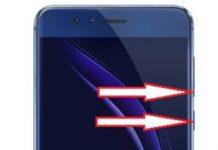 Huawei Honor 8 ekran görüntüsü alma