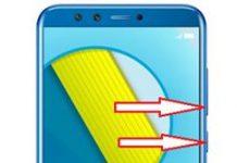 Huawei Honor 9 Lite ekran görüntüsü alma