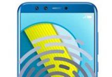 Huawei Honor 9 Lite parmak izi ekleme