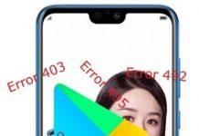 Huawei Honor 9i Google Play Hataları