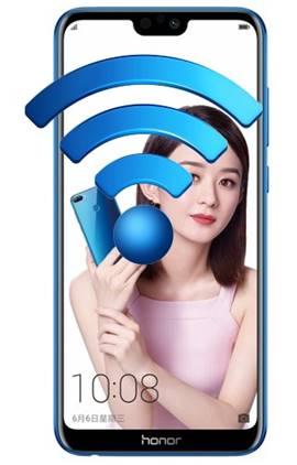 Huawei Honor 9i ağ ayarlarına sıfırlama