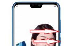 Huawei Honor 9i ekran görüntüsü alma