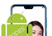 Huawei Honor 9i kodlar
