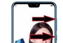 Huawei Honor 9i kurtarma modu