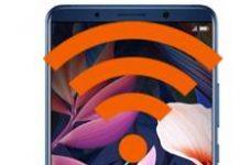 Huawei Mate 10 Pro ağ ayarlarına sıfırlama