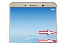 Huawei Mate 10 ekran görüntüsü alma
