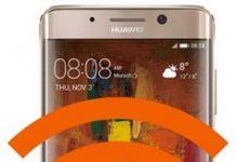 Huawei Mate 9 Pro ağ ayarlarına sıfırlama