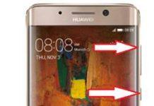 Huawei Mate 9 Pro kurtarma modu