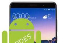 Huawei Mate 9 kodlar