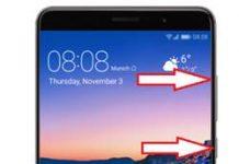 Huawei Mate 9 kurtarma modu