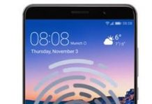 Huawei Mate 9 parmak izi ekleme
