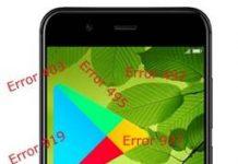 Huawei Nova 2 Google Play hataları