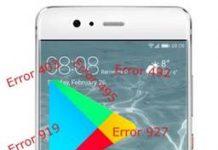 Huawei P10 Google Play hataları