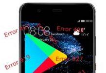 Huawei P10 Plus Google Play hataları