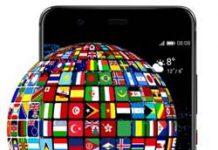 Huawei P10 Plus dil değiştirme