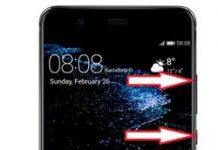 Huawei P10 Plus kurtarma modu