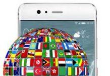 Huawei P10 dil değiştirme