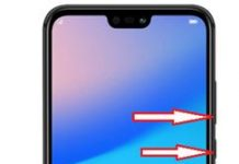 Huawei P20 Lite ekran görüntüsü alma