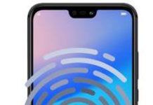 Huawei P20 Lite parmak izi ekleme