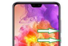 Huawei P20 Pro ekran görüntüsü alma
