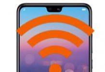 Huawei P20 ağ ayarlarına sıfırlama